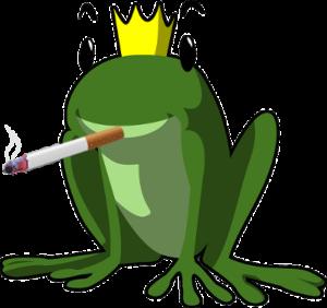rauchen aufhören frosch